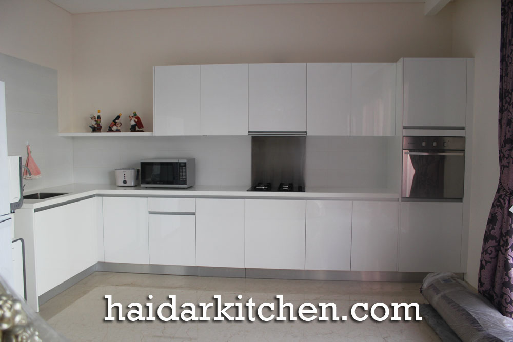 Haidar Kitchen Blog Archive Kithen Set Mewah Duco Putih Lebak
