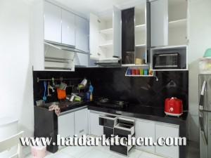 Haidar Kitchen Blog Archive Kitchen Set Minimalis Hitam Putih