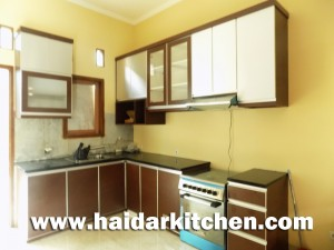 KItchen set Minimalis Cempaka Putih