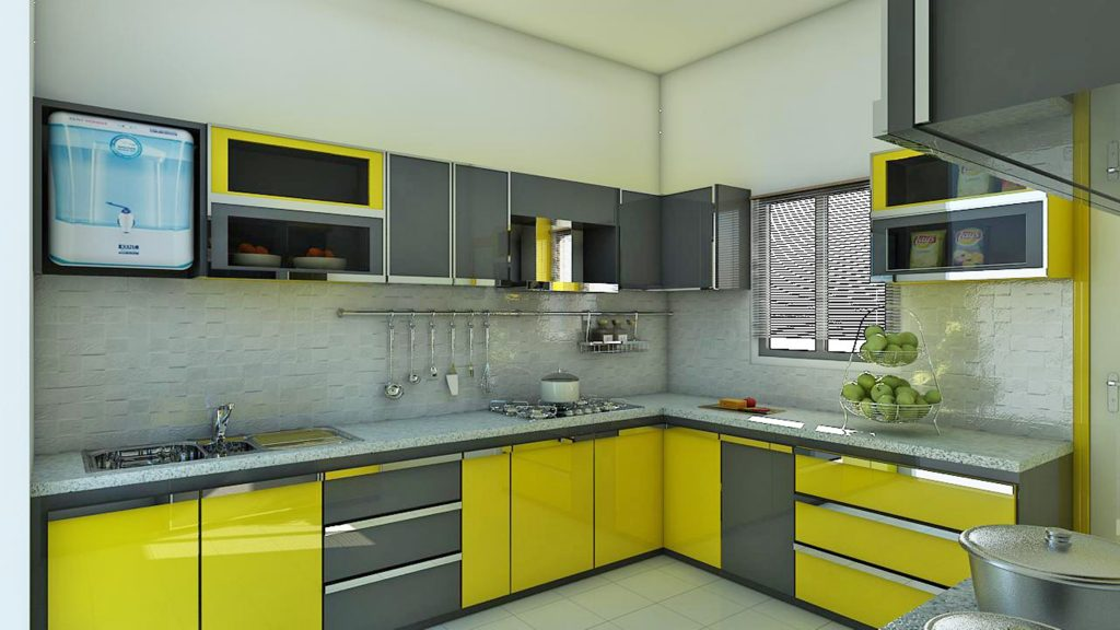 Kitchen set aluminium minimalis